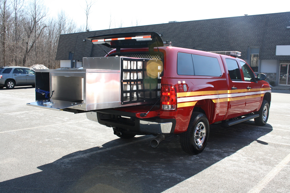 Emergency Vehicle Accessories And Slide Out Drawers
