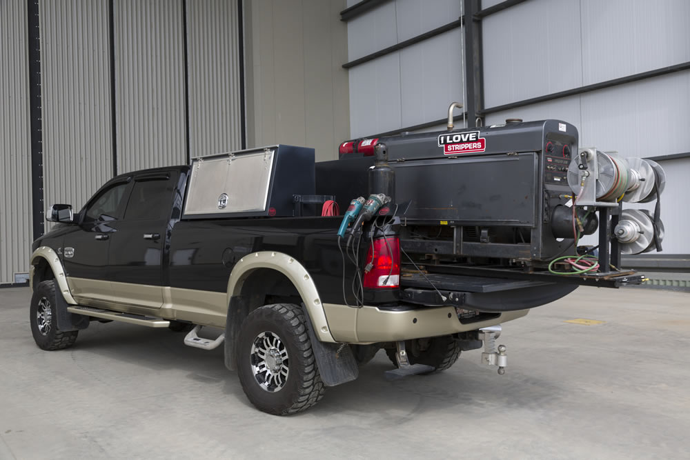 Truck Beds For Sale >> Welding Truck Accessories & Slide Out Welder Trays | Cargo Bed