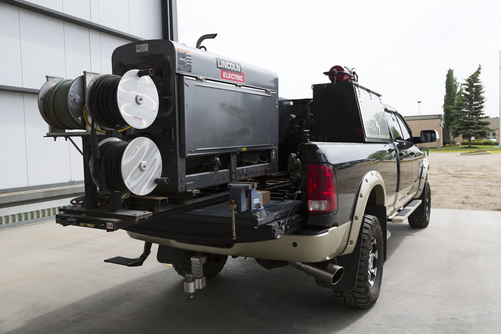 Storage For Bed Of Truck >> Welding Truck Accessories & Slide Out Welder Trays | Cargo Bed
