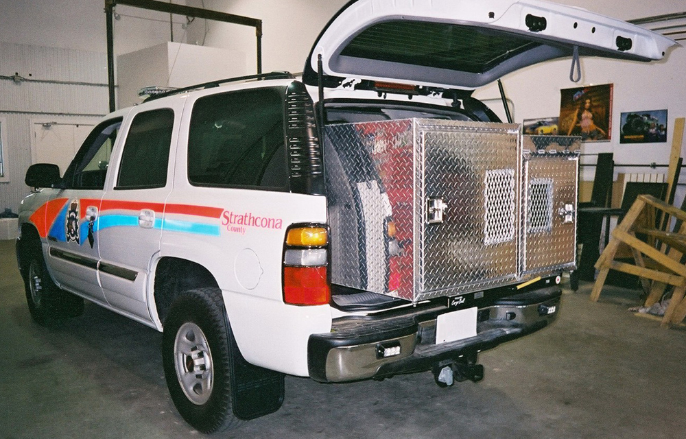 Cargo Box For Suv >> Emergency Vehicle Accessories and Slide Out Drawers | Cargo Bed