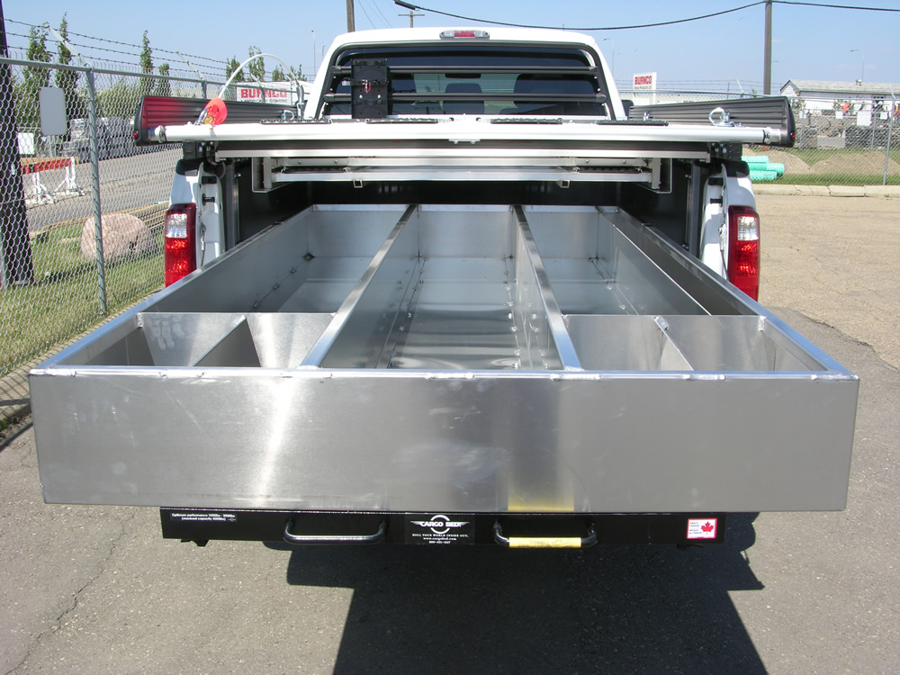 Truck Bed Slide Out Drawers for Survey Trucks | Cargo Bed