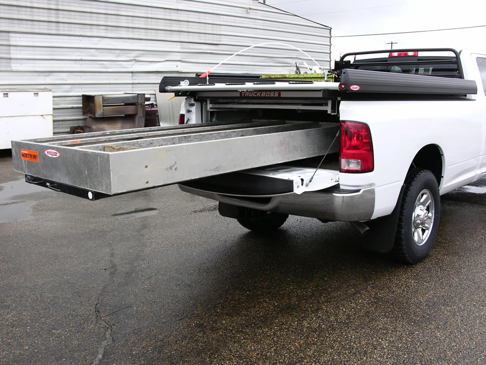 Truck Bed Slide Out >> Truck Bed Slide Out Drawers for Survey Trucks | Cargo Bed