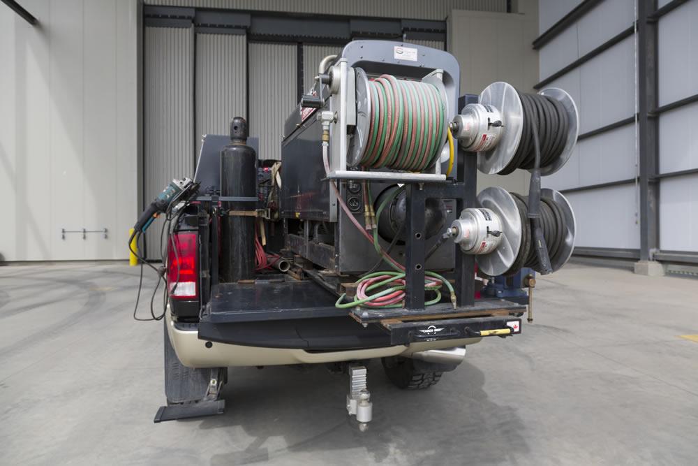 Custom Pickup Trucks >> Welding Truck Accessories & Slide Out Welder Trays | Cargo Bed